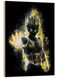 Holzbild  Vegeta Fury - Barrett Biggers