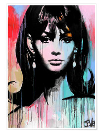 Premium-Poster Carnaby Girl