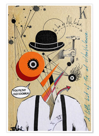 Premium-Poster  Clockwork orange - Loui Jover