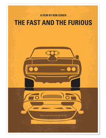 Premium-Poster The Fast And The Furious