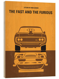 Holzbild  The Fast And The Furious - chungkong