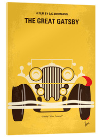 Acrylglas  No206 My The Great Gatsby minimal movie poster - chungkong