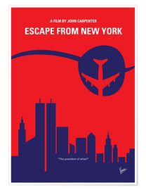 Premium-Poster Escape From New York