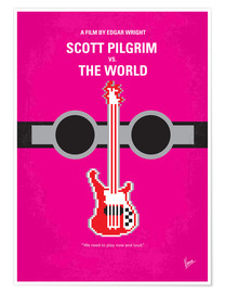 Premium-Poster Scott Pilgrim Vs. The World