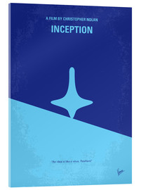 Acrylglas  No240 My Inception minimal movie poster - chungkong