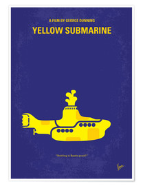 Premium-Poster Yellow Submarine