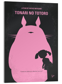 Acrylglasbild  No290 My My Neighbor Totoro minimal movie poster - chungkong