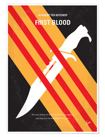 Premium-Poster Rambo - First Blood