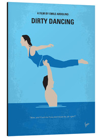 chungkong - No298 My Dirty Dancing minimal movie poster