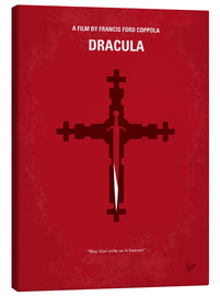Leinwandbild  No263 My DRACULA minimal movie poster - chungkong
