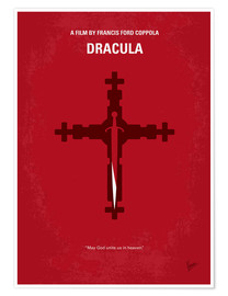 Premium-Poster  No263 My DRACULA minimal movie poster - chungkong