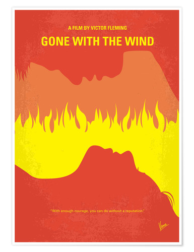 Premium-Poster Gone With The Wind