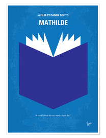 Poster No291 My MATHILDE minimal movie poster
