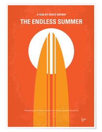 Premium-Poster The Endless Summer
