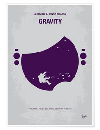 Poster No269 My Gravity minimal movie poster