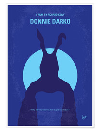 Poster No295 My Donnie Darko minimal movie poster