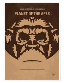 Premium-Poster Planet Of The Apes