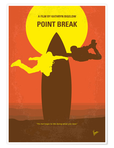 chungkong no455 my point break minimal movie poster poster. Black Bedroom Furniture Sets. Home Design Ideas