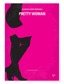 Poster No307 My Pretty Woman minimal movie poster