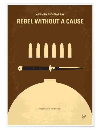 Premium-Poster Rebel Without A Cause