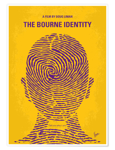 Premium-Poster The Bourne Identity