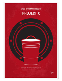 Premium-Poster  Project X - chungkong