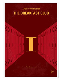 Premium-Poster The Breakfast Club