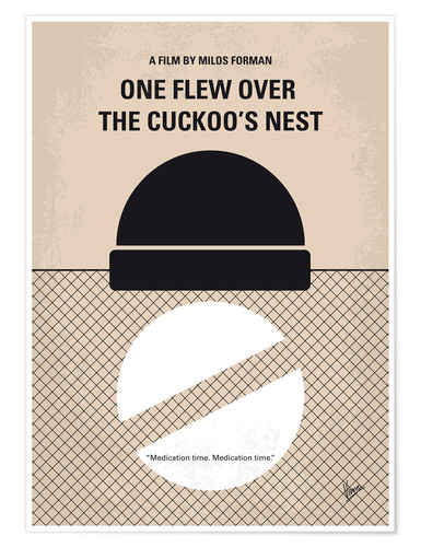 Premium-Poster One Flew Over The Cuckoo's Nest