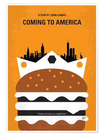 Premium-Poster Coming To America