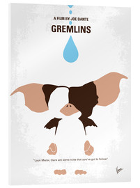 Acrylglas  No451 My Gremlins minimal movie poster - chungkong