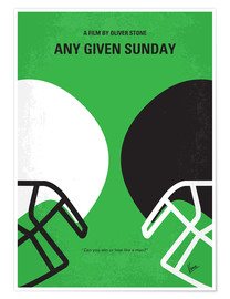 Premium-Poster Any Given Sunday
