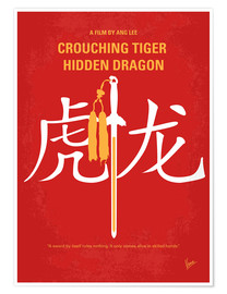 Premium-Poster Crouching Tiger Hidden Dragon