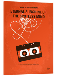 Acrylglas  No384 My Eternal Sunshine of the Spotless Mind minimal movie poster - chungkong