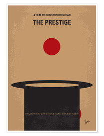 Poster  No381 My The Prestige minimal movie poster - chungkong