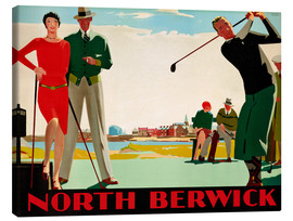 Leinwandbild  North Berwick Golf Club - Andrew Johnson