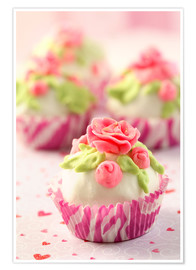 Premium-Poster  Lovely Cupcakes