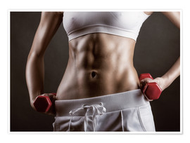 Poster  Maximale Fitness