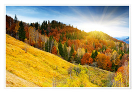 Premium-Poster Herbst in Bayern