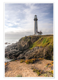 Premium-Poster  Pigeon Point Lighthouse