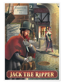 Premium-Poster Jack the Ripper
