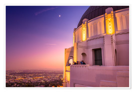 Premium-Poster Griffith Observatory