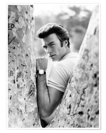 Premium-Poster  Clint Eastwood