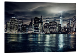 Manhattan bei Nacht, New York City