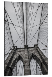 Alubild  Brooklyn Bridge in New York