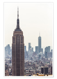 Premium-Poster  New York City - Empire State Building