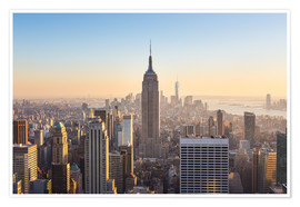 Poster  Manhattan Skyline