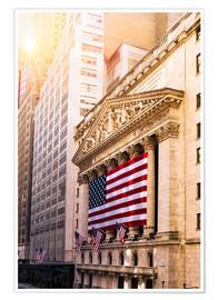 Premium-Poster New York Stock Exchange