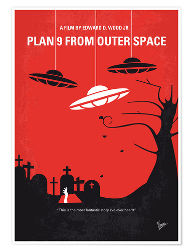 Premium-Poster Plan 9 From Outer Space