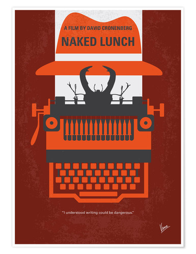 Premium-Poster Naked Lunch