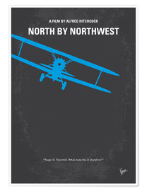 Premium-Poster North By Northwest